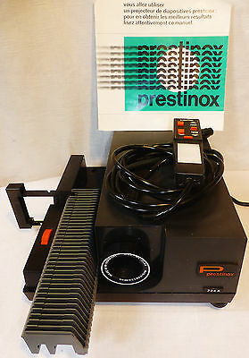 PROJECTEUR de Diapositives VINTAGE PRESTINOX 724A Photo Argentique