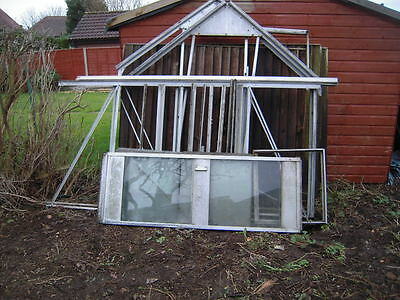 Aluminium Greenhouse Used 8 X 6 Feet
