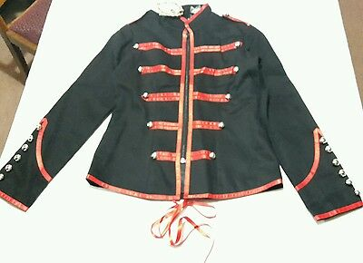Banned Apparel /'Rise Of Dawn/' Gothic Victorian Zipped Women/'s Jacket