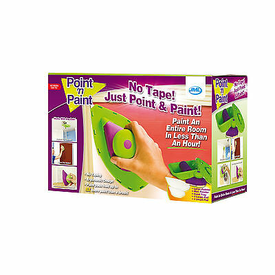 Point 'n' Paint Precision Non-drop Applicator & Pad with Built-In Edger 6 Pieces
