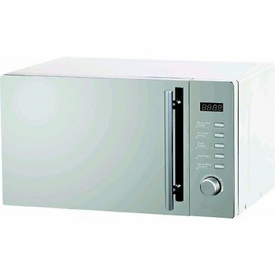 Wellco Mirror Finish Easitronic Microwave Oven with Grill - 20L MW202