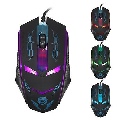3200 DPI LED Optical Mouse USB Wired Gaming Mouse Mice For PC Laptop Gamer NICE