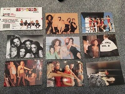 Spice Girls Official Photograph Packet