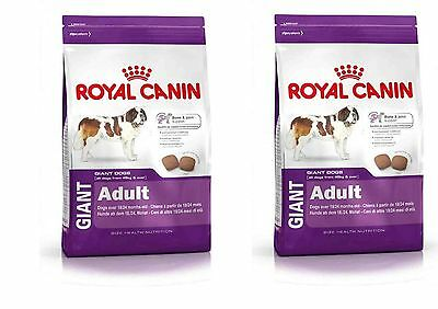 2 x 15kg = 30kg Royal Canin Giant Adult Economy Packs