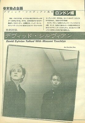 Japan / David Sylvian - Clippings From Japanese Magazine Music Life 6/1982