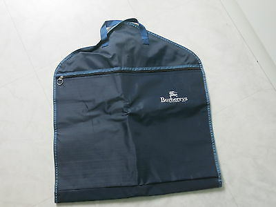 Burberry's Navy Suit Cover Garment Clothes Travel Protector