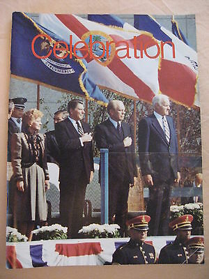 Gerald R Ford CELEBRATION on the Grand magazine by the Grand Rapids Press 1981