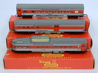 TRIANG OO R440 R441 R442 3x TRANS CONTINENTAL COACHES DOME MAINLY Nr MINT BOXED