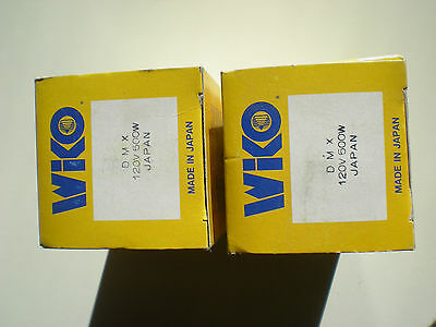 NOS Wiko DMX Bulb 120v 500w Projector Projection