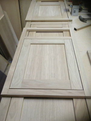 Hand Made Replacement Kitchen Doors Solid Oak Inframe Ref: Cabinet