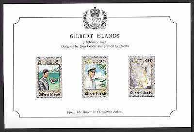 Gilbert Islands 1977 Silver Jubilee Mounted Mint