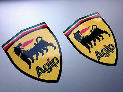 Agip Wing Panel Stickers Italian Flag Top Sticker Decal
