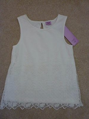 Girls Lace Top Age 5/6 Years NEW