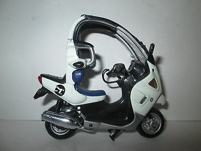 Rare Bmw C1 1-18 Scale Motorcycle Model