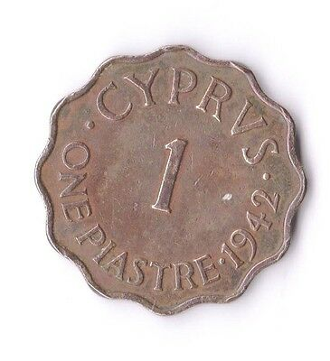 Cyprus 1942 Coin 1 Piastre 9984