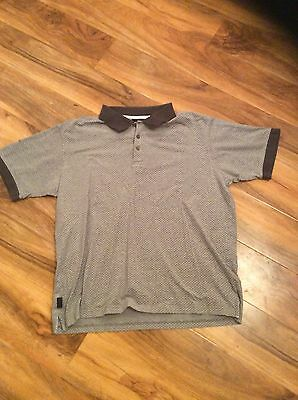 Guinness Size Large Spotted Polo Shirt