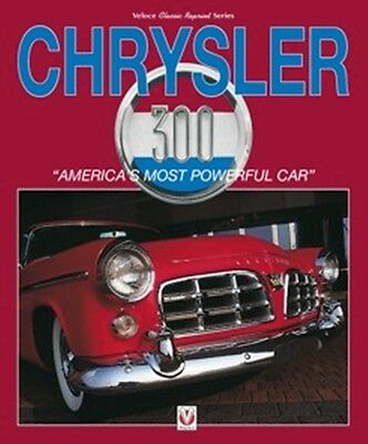 Chrysler 300 America's Most Powerful Car book paper