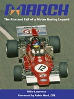 March The rise and fall of a Motor Racing Legend book paper