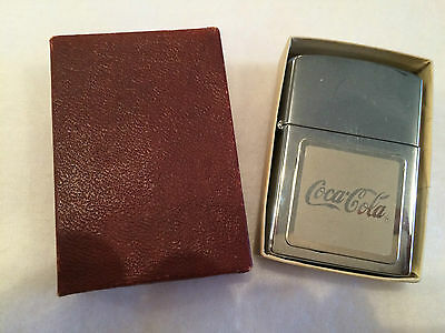 Vintage Coca Cola General Lighter UNSTRUCK Cigarette Cigar Coke MINT UNUSED
