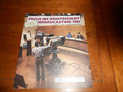 Independent Broadcasting Authority IBA Focus Television Radio Booklet 1981