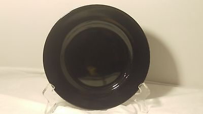 Fitz & Floyd Total Color Spectrum BLACK Salad Plate (s) 7 1/2""