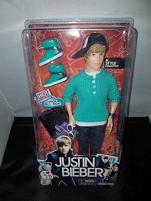 Justin Bieber Beiber Music Doll Figure Articulated Rare Action Cap Love Yourself