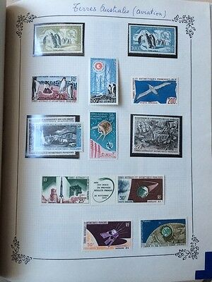 VENTE HIVER 1#LOT161: collection timbres colonies Zanzibar DOM-TOM TAAF