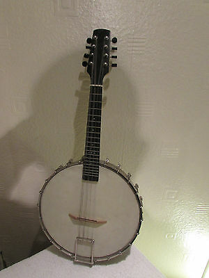 8-String Mandolin-Banjo Signed By Billy Connolly In Great Condition