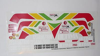 Kyosho Ultima Pro XL Radio Controlled Car Decals Stickers Rc Buggy