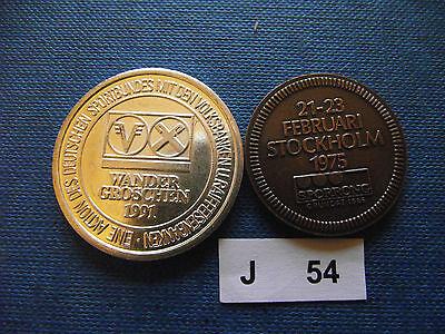 Two Event's Tokens. J54