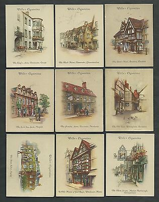Will's - Old Inns (2nd.Series) 1939 - Set of 40 Cards