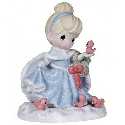 Precious Moments, Disney Cinderella Figurine You Bring A Song To My Heart 131040