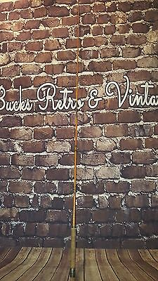 Vintage Bamboo Milbro Fishing Rod Canvas Bag Case Pike Fly River