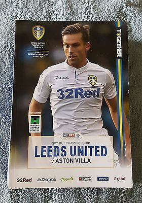 Leeds United vs. Aston Villa - 3/12/2016