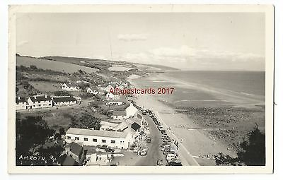 Wales Amroth near Tenby Real Photo Vintage Postcard
