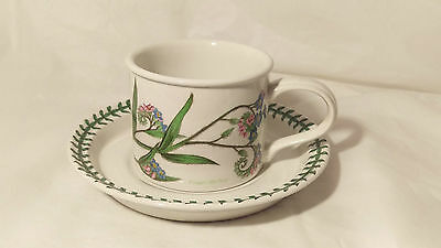 Portmeirion Botanic Garden Forget Me Not Drum Cup & Saucer Set (s)