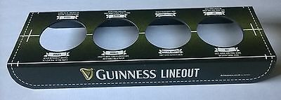 New  Guinness  Lineout  4 Pint Tray,  Post Free In Uk
