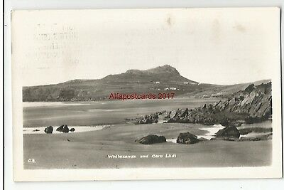 Wales St Davids Whitesands & Carn Llidi Real Photo Vintage Postcard