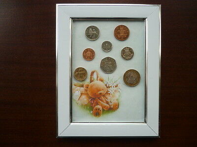 Coin Year Set in Framed display 2005