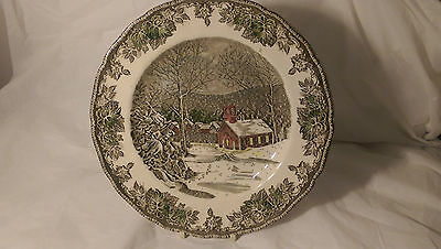 Johnson Brothers The Friendly Village Made in England 9 7/8 Dinner Plate (s) VGC
