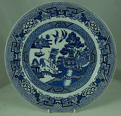 Willow Pattern Plate by Dudson Bros.