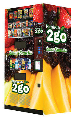 10 New Seaga N2G4000 Healthy Combo Vending Machines