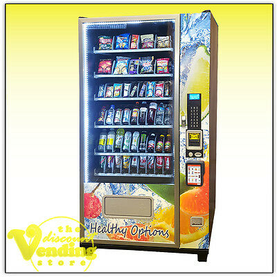 NEW Cosmic 46 Healthy Vending Machine