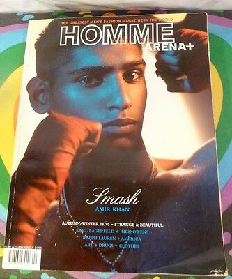 Why Pay £24.99! GAY INTEREST ARENA HOMME +22 Amir Khan Male Semi Naked Photo