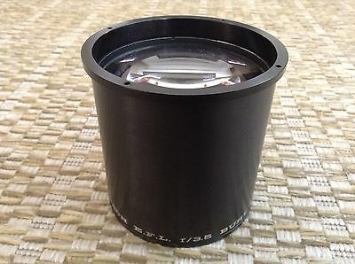 "BUHL OPTICAL 14"" Inch f/3.5 EFL Projection (Projector) Lens FREE SHIPPING"
