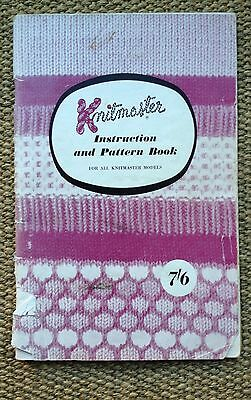 Knitmaster Instruction and pattern book