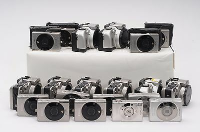 Lot of 20 Canon EOS IX / ELPH APS Film Cameras #UPP011 PARTS/REPAIR