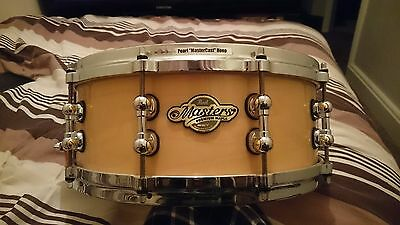 "Pearl Masters MMP1455 14""x5.5"" 4-ply premium maple snare drum"