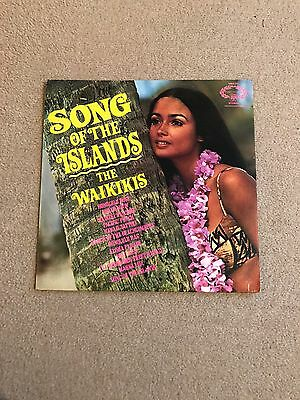 The Waikikis Song Of The Islands LP / Record