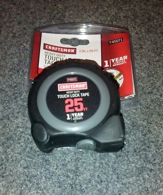 Tape Measure 25ft Touch Lock Craftsman 00945071